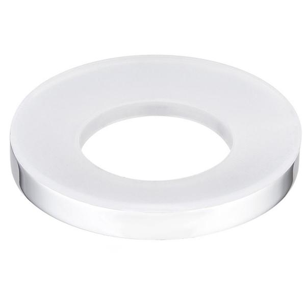 3 in. O.D. x 3/8 in. Mounting Ring, Chrome