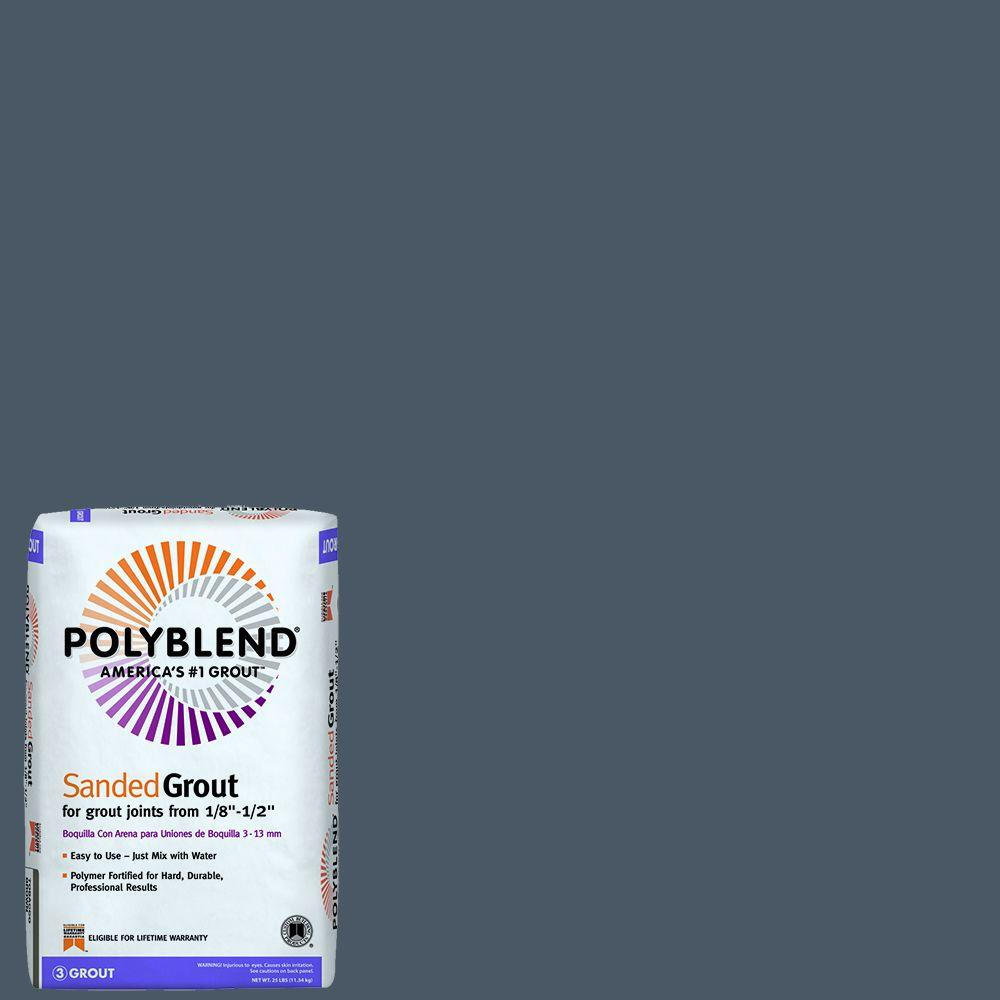 Polyblend #370 Dove Gray 25 lb. Sanded Grout