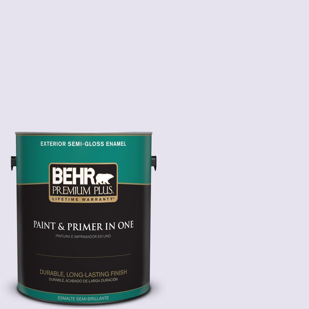 1-gal. #640A-1 Soft Iris Semi-Gloss Enamel Exterior Paint