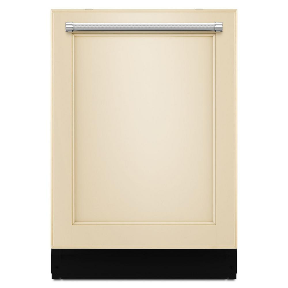 KitchenAid Top Control Built-in Dishwasher in Panel Ready with Stainless Steel Tub and ProScrub Option, 46 dBA