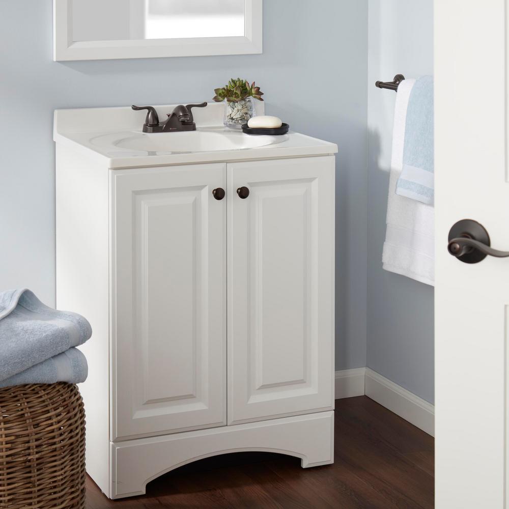 Constructor 4 in. Centerset 2-Handle Bathroom Faucet in Bronze
