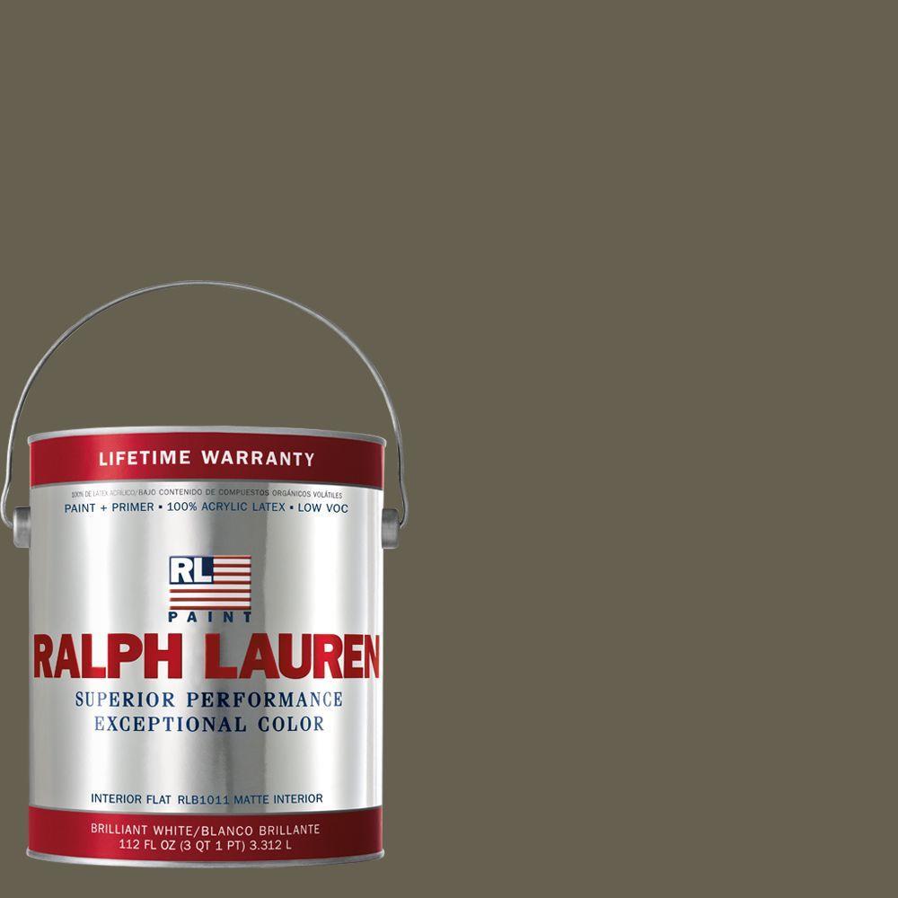 Ralph Lauren 1-gal. Frugal Brown Flat Interior Paint