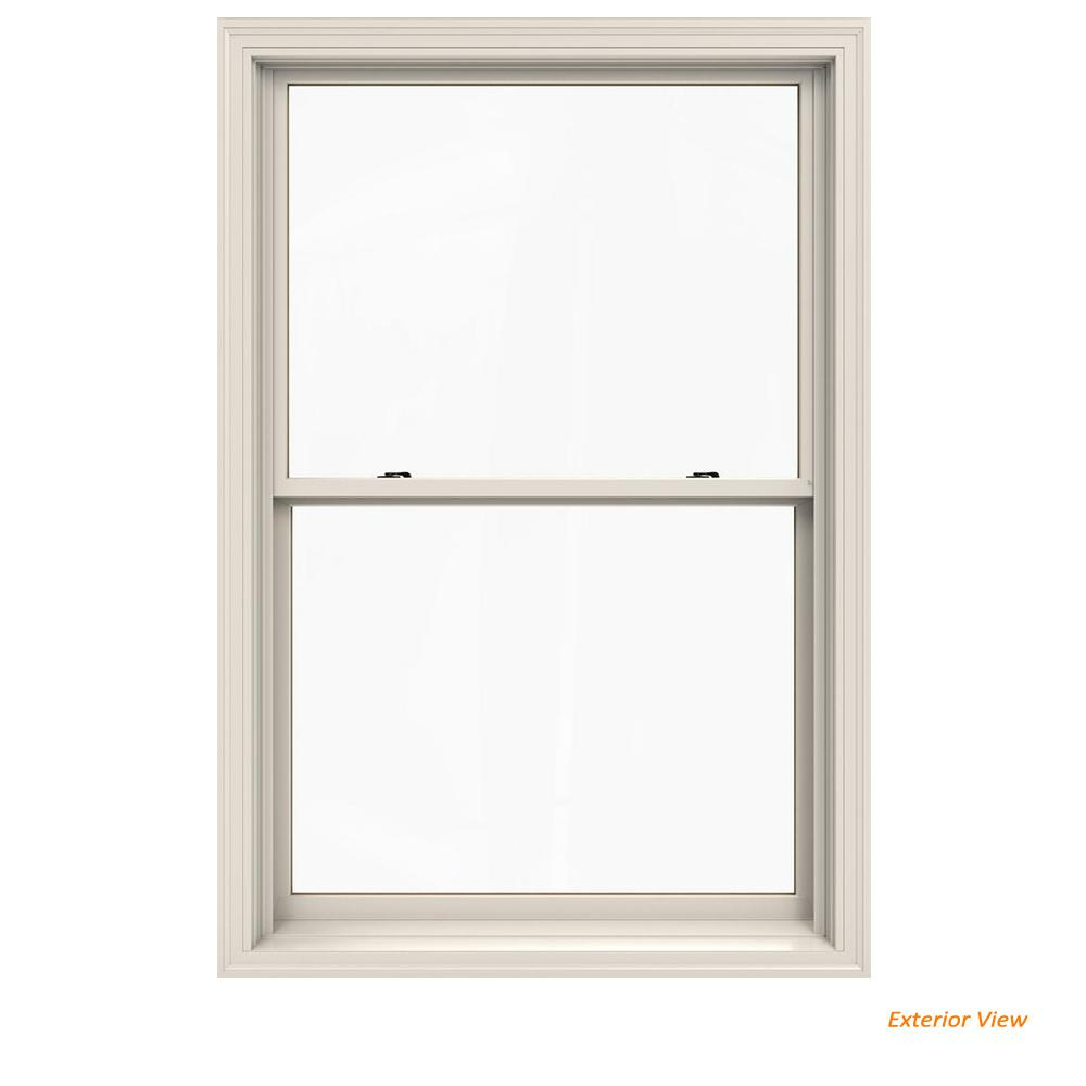 Jeld Wen 37 375 In X 56 5 W 2500 Series White Painted