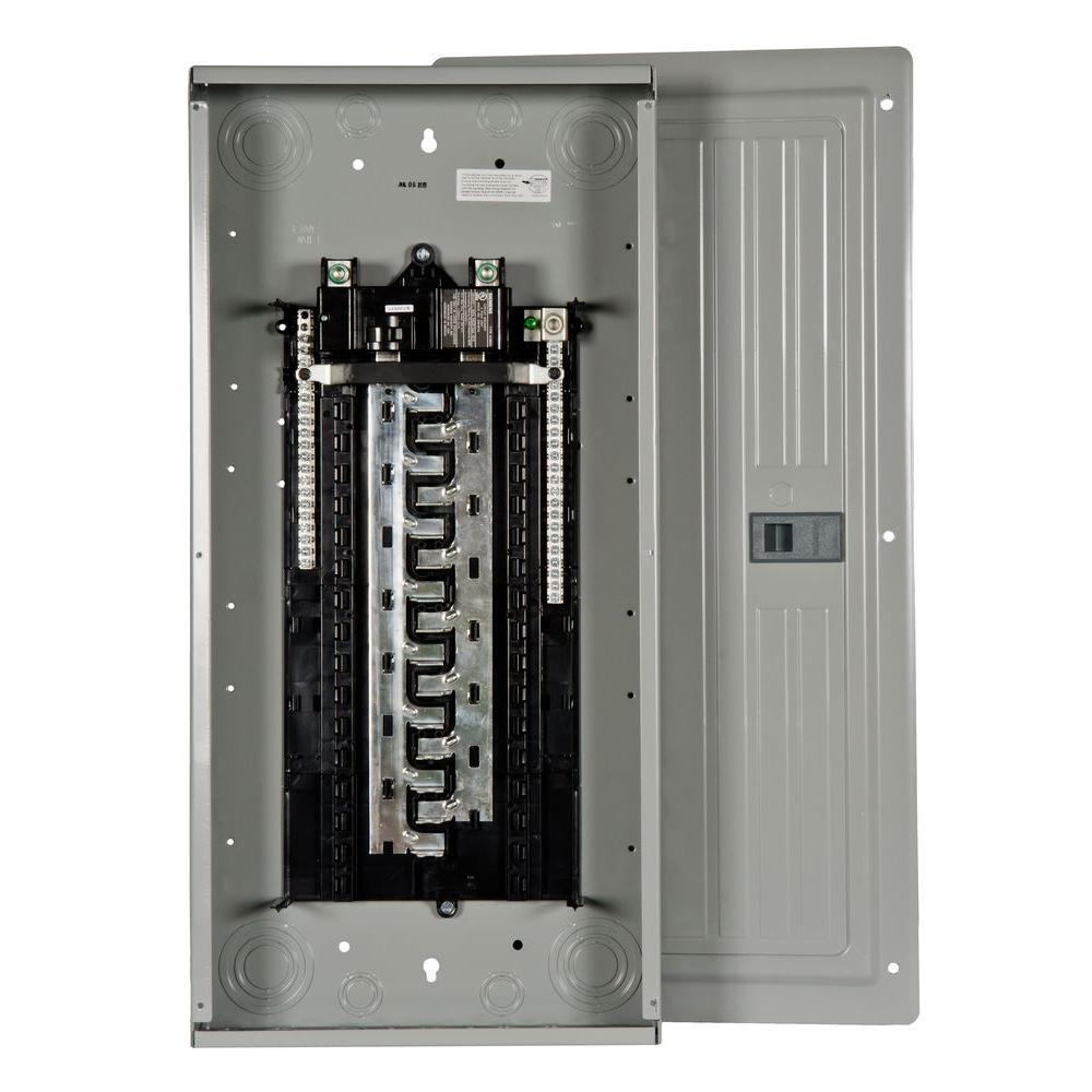 ES Series 125 Amp 30-Space 40-Circuit Main Breaker Indoor Load Center