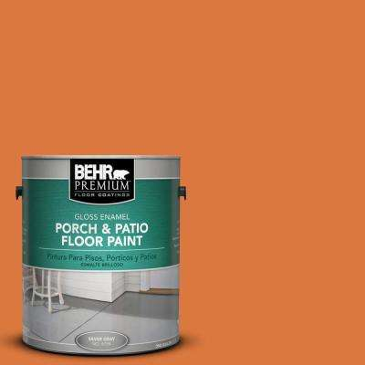 1 gal. #P210-7 Japanese Koi Gloss Interior/Exterior Porch and Patio Floor Paint