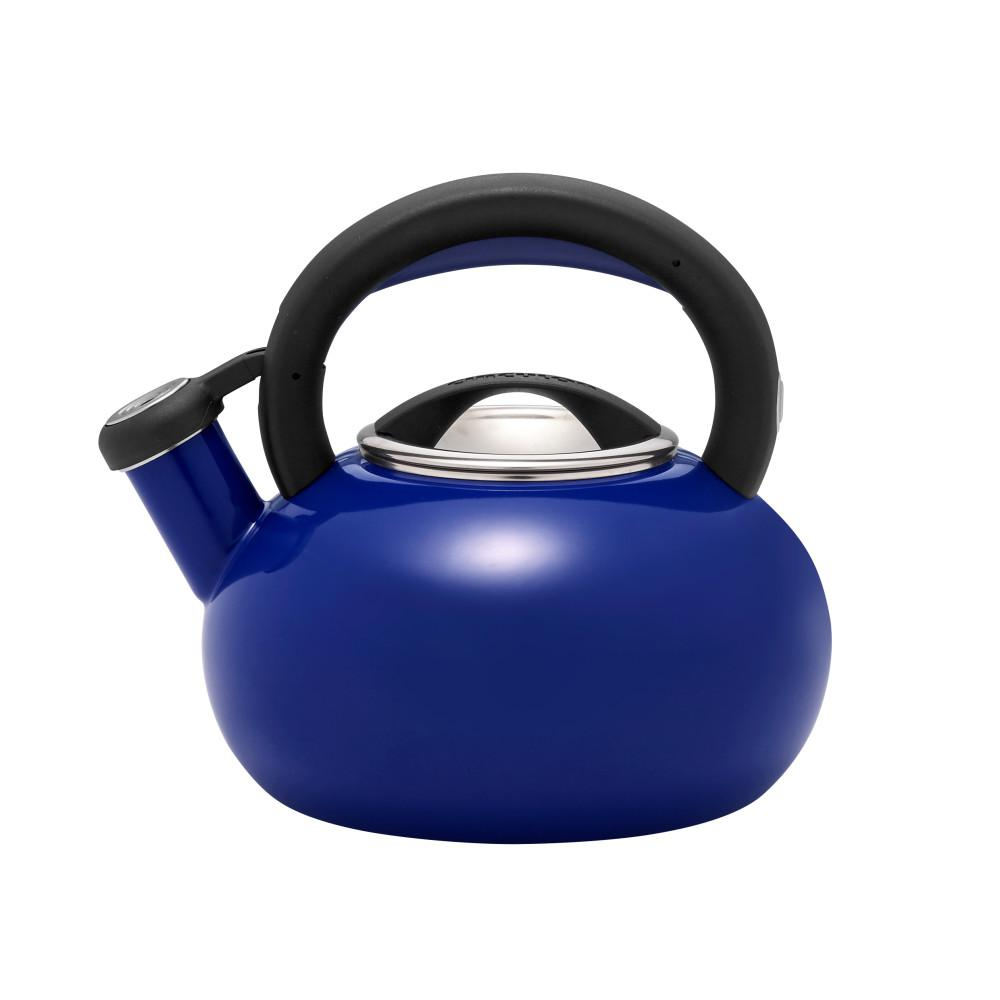 Circulon 1 5 Qt 6 Cups Royal Blue Sunrise Teakettle