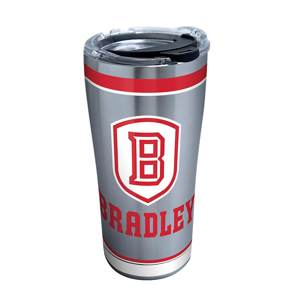 Tervis Bradley University Tradition 20 Oz Stainless Steel Tumbler With Lid 1313891 The Home Depot