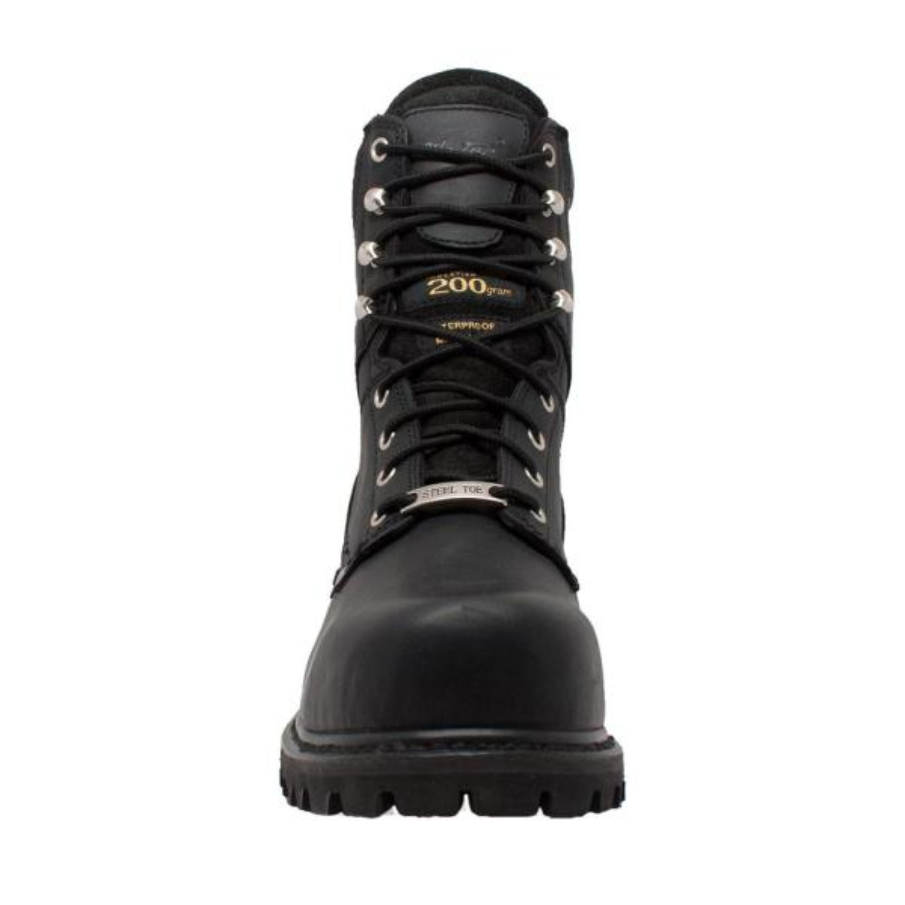 9'' Logger Boot - Steel Toe - Black