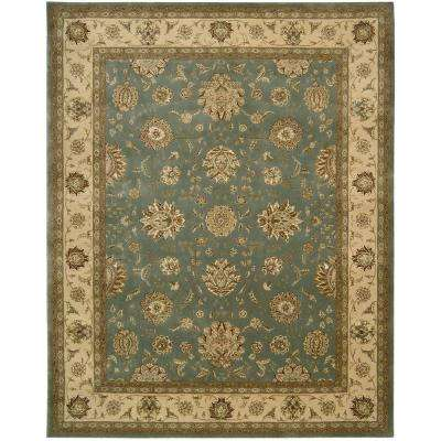 2000 Blue 9 ft. x 12 ft. Area Rug
