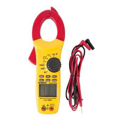 10-Function 27 Auto-Range True RMS Digital Snap-Around Clamp Meter