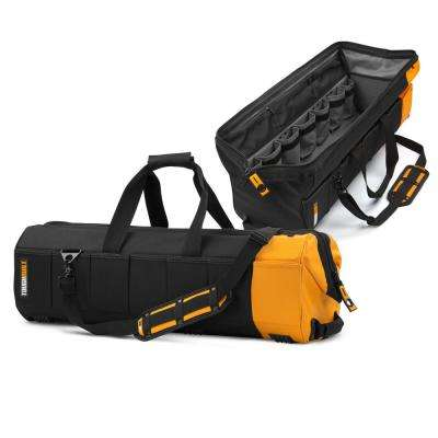 Massive Mouth 30 in. Tool Bag with 65-Pockets in Black