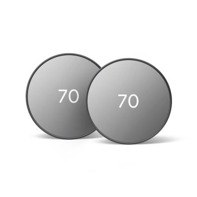 Nest Thermostat Charcoal 2-Pack