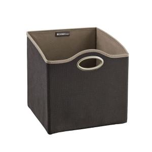 ClosetMaid 4.76-gal. Small Fabric Storage Bin in Gray by ClosetMaid