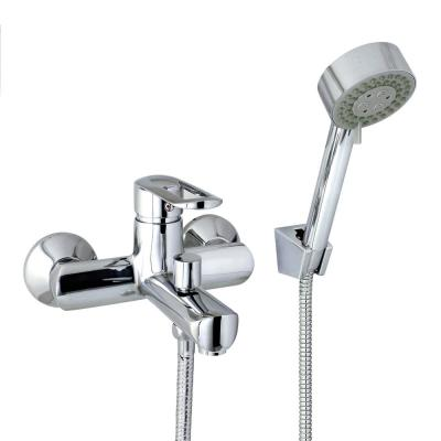 Oval 6 in. Single-Handle 3-Spray Tub and Shower Faucet with Hand Held Shower in Polished Chrome (Valve Included)
