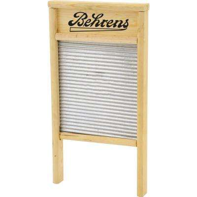 24.5 in. H x 12.5 in. W Galvanized Washboard