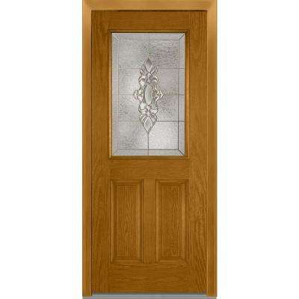 32 x 80 - Light Brown Wood - Front Doors - Exterior Doors - The ...