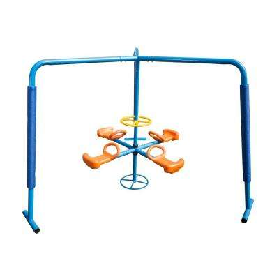 4-Station Fun Filled Merry Go Round Playset