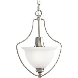 madison collection 1light brushed nickel pendant - Brushed Nickel Pendant Light