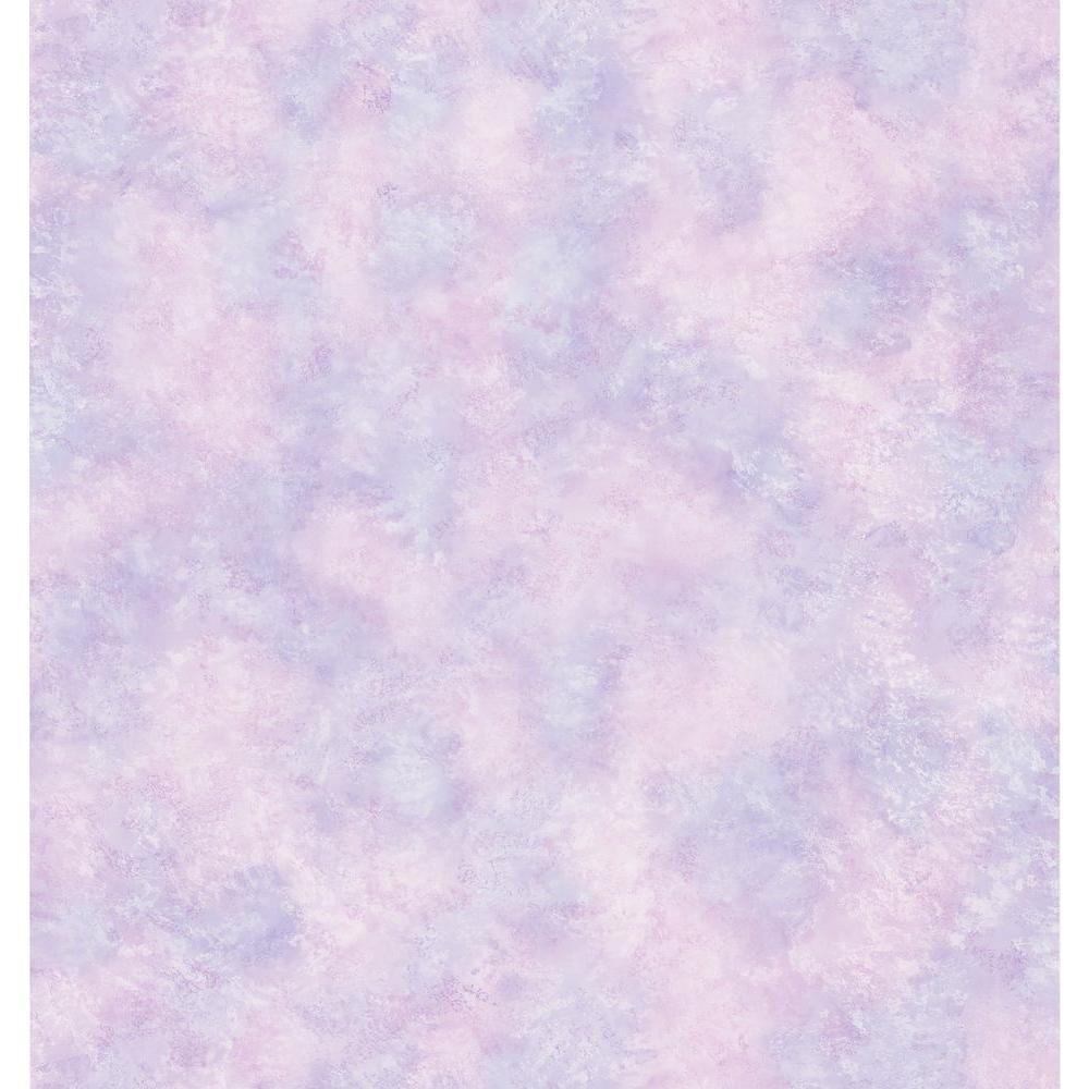 Cottage Living Faye Purple Gauzy Texture Wallpaper Sample