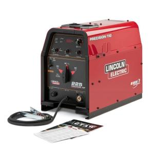 Lincoln Electric 230 Amp Precision TIG 225 TIG Welder, Single Phase, 460V/575V, Machine Only by Loln Electric
