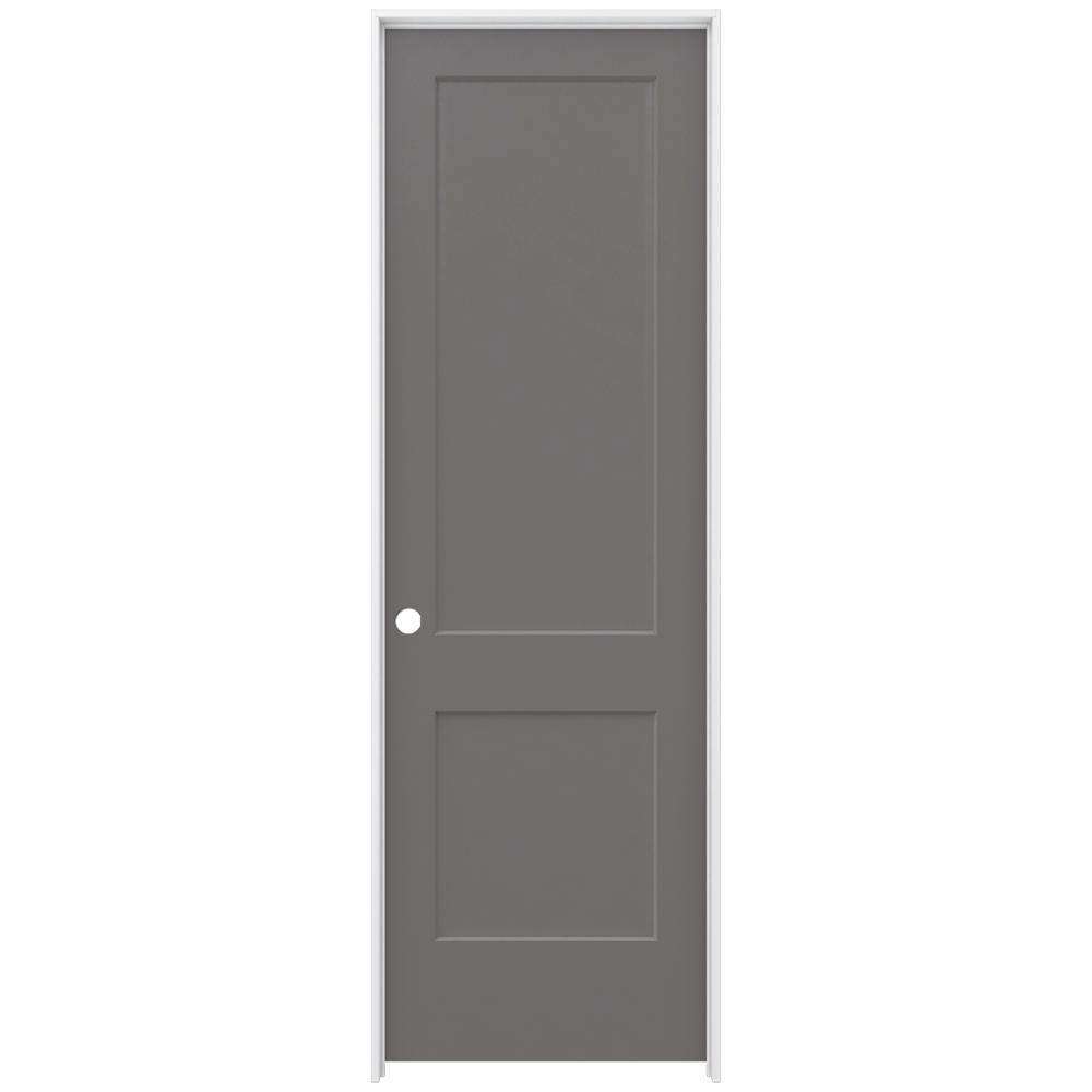 Jeld wen 32 in x 96 in monroe weathered stone right hand for 14 x 80 interior door