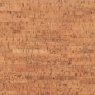 Titan Natural 10.5 mm Thick x 12 in. Wide x 36 in. Length Engineered Click Lock Cork Flooring (21 sq. ft. / case)