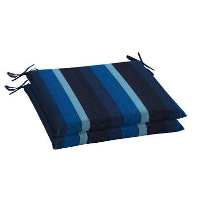 20 x 18 Sunbrella Gateway Indigo Outdoor Chair Cushion (2-Pack)