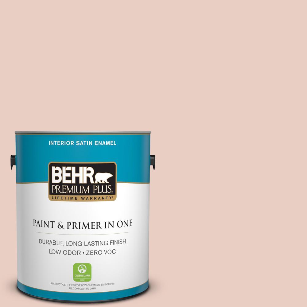 BEHR Premium Plus 1-gal. #S180-1 Angelico Satin Enamel Interior Paint