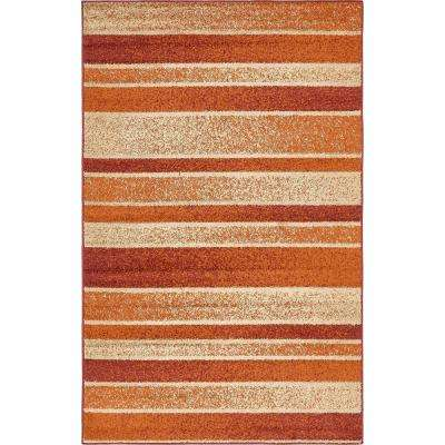 Harvest Rust Red 5 ft. x 8 ft. Area Rug