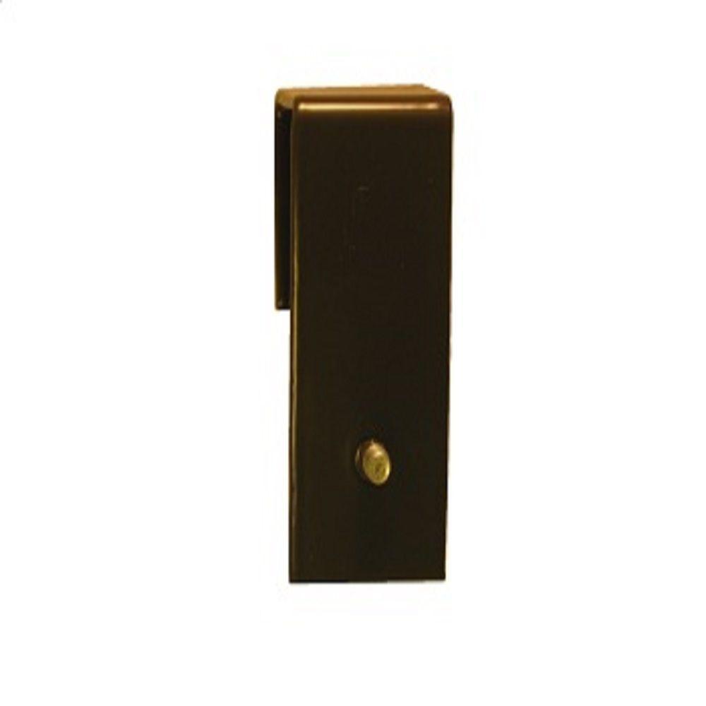 EZ Slide Cabinet Hardware 1 in. No Drilling Required Converter Fastener