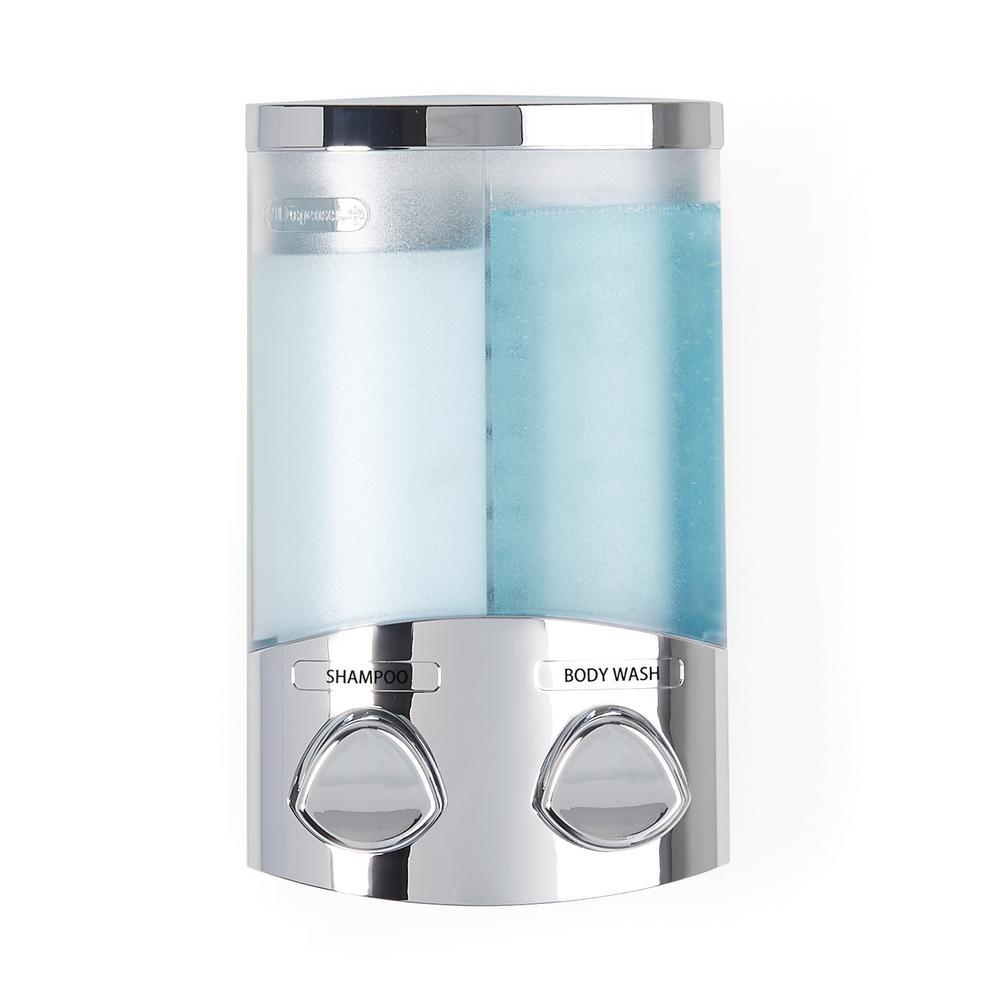 Better Living Duo Dispenser in Chrome-76244-1 - The Home Depot