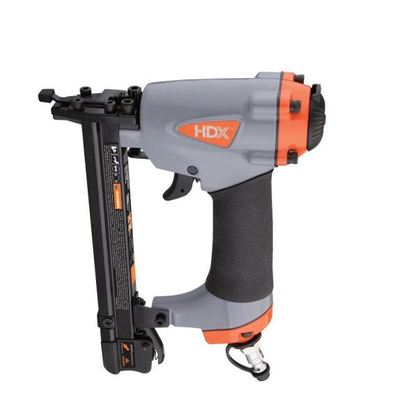 Hdx Pneumatic 20 Gauge 9 16 In Fine Wire Stapler Hdxfws The Home Depot