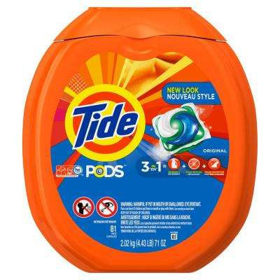 Pods Original Scent Laundry Detergent (81-Count)
