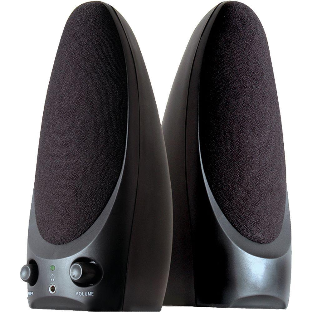 GE 2.0 Multimedia Speakers with Volume Control