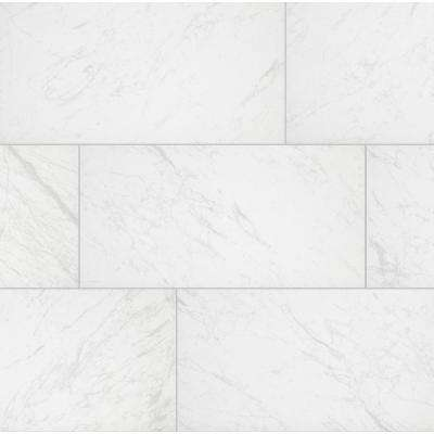 Brilliance White Rectified 12 in. x 24 in. Porcelain Floor and Wall Tile (425.6 sq. ft. / pallet)