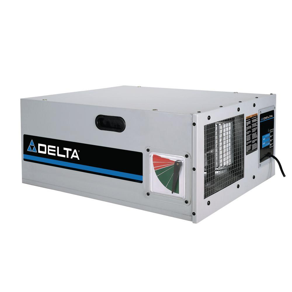 Delta 1/5 HP 3-Speed Air Cleaner with Remote