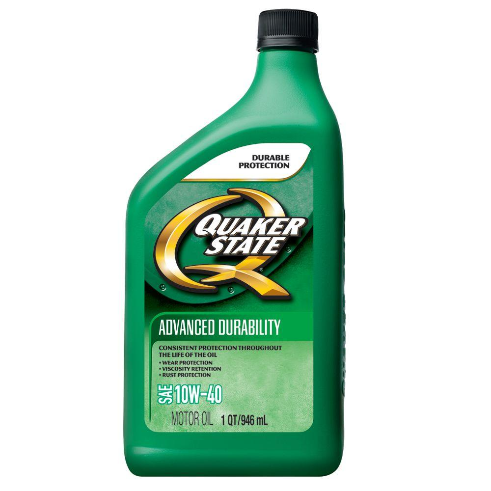 Quaker state 10w 40 advanced durability conventional motor for Quaker state advanced durability motor oil review