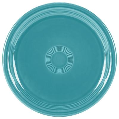9 in. Turquoise Bistro Buffet Plate