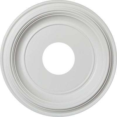 13 in. Traditional PVC Ceiling Medallion