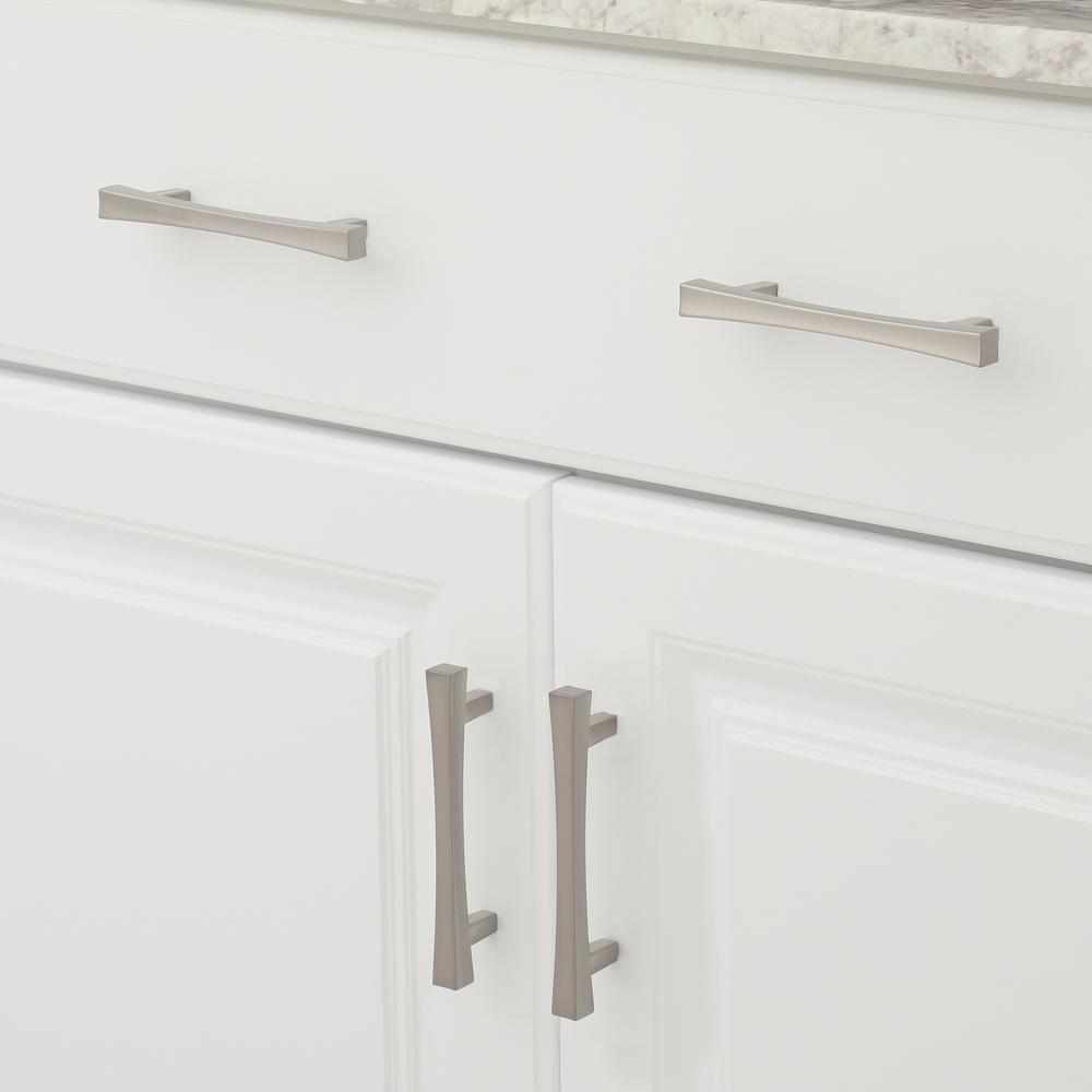 Brushed Nickel Cabinet Hardware Hardware The Home Depot