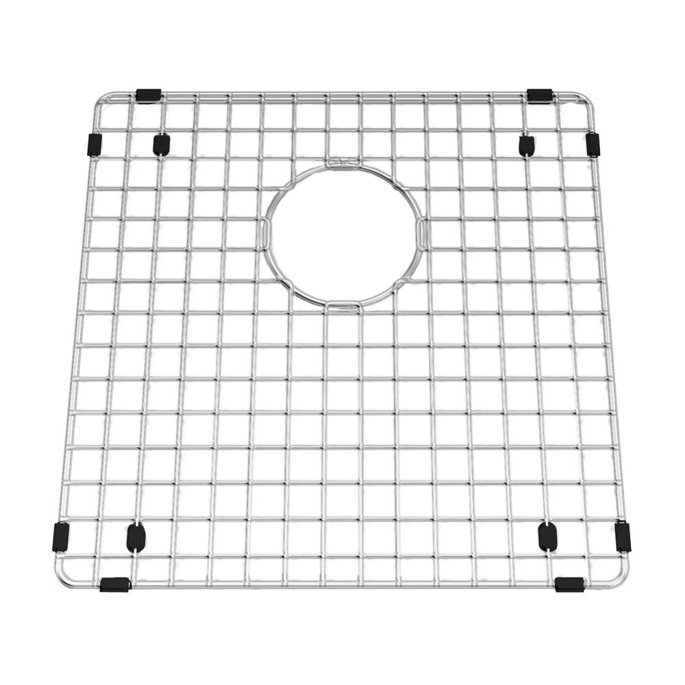 american standard prevoir 15 in  square kitchen sink grid in stainless steel 791565 206070a   the home depot american standard prevoir 15 in  square kitchen sink grid in      rh   homedepot com