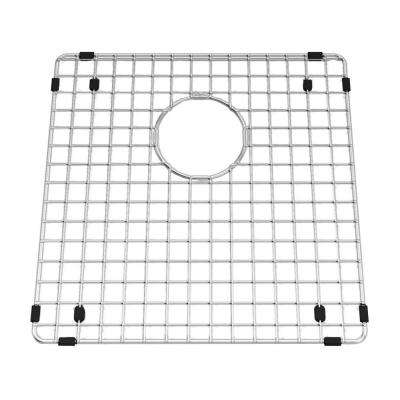 Prevoir 15 in. Square Kitchen Sink Grid in Stainless Steel