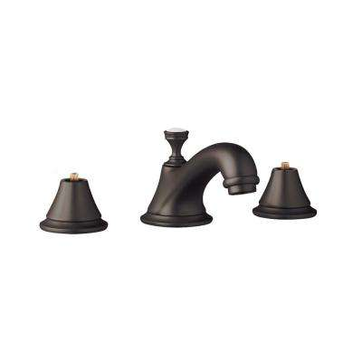 Seabury 8 in. Widespread 2-Handle 1.2 GPM Bathroom Faucet in Oil Rubbed Bronze