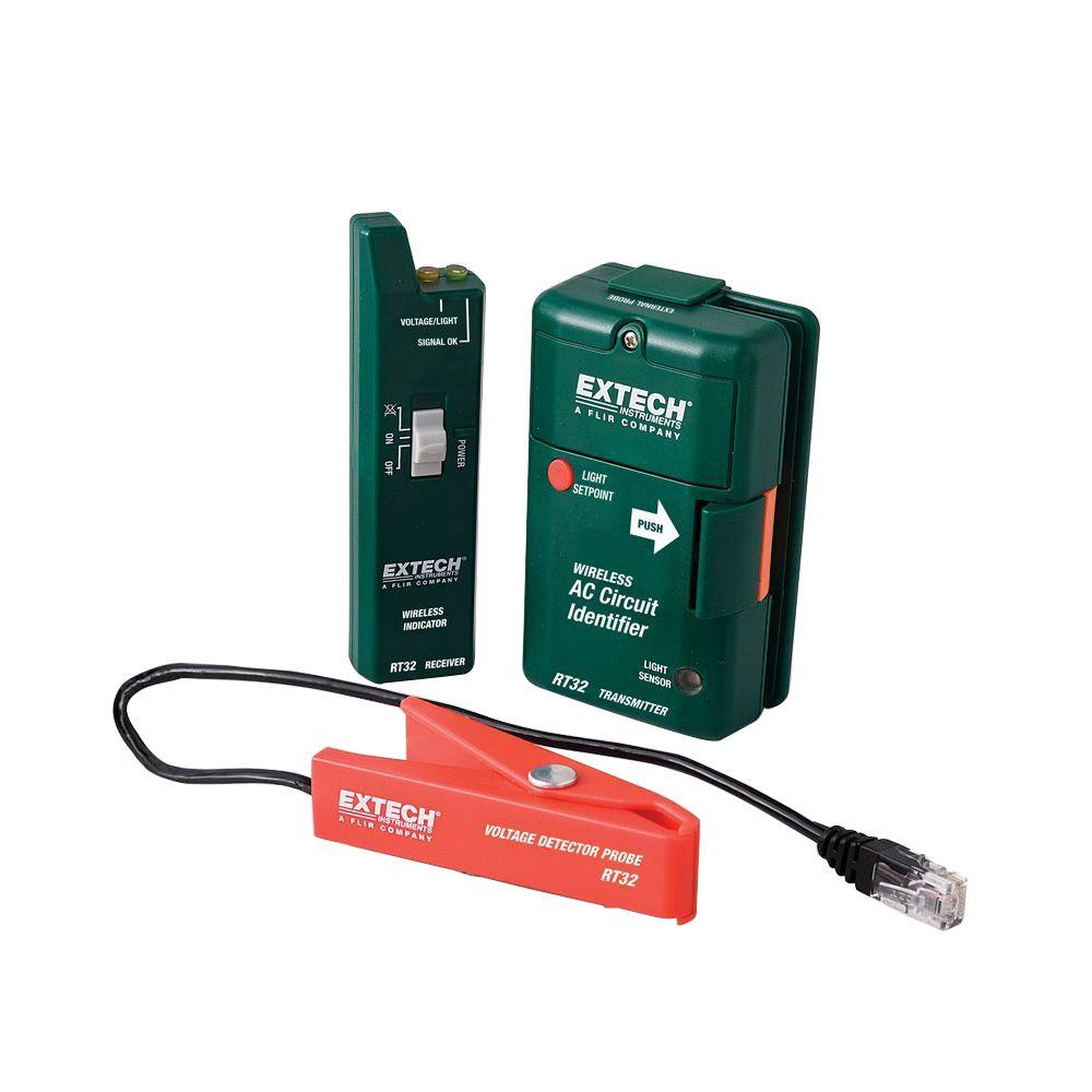 Extech Instruments Wireless AC Circuit Identifier with External Probe