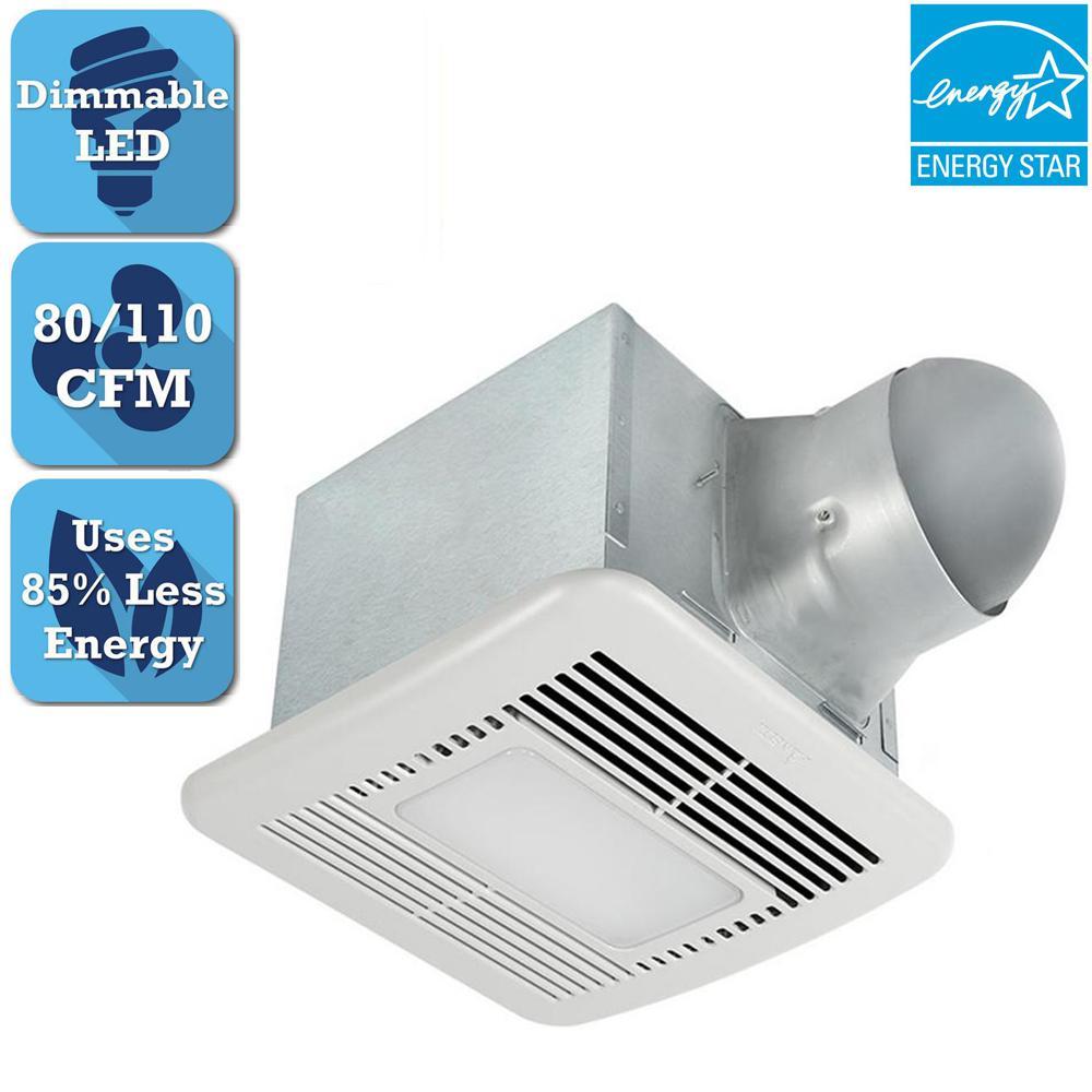 Broan Sensonic 110 Cfm Ceiling Stereo Speaker Exhaust Fan