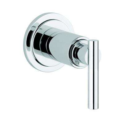 Atrio 1-Handle Volume Control Valve Trim Kit with Lever Handle in StarLight Chrome (Valve Sold Separately)