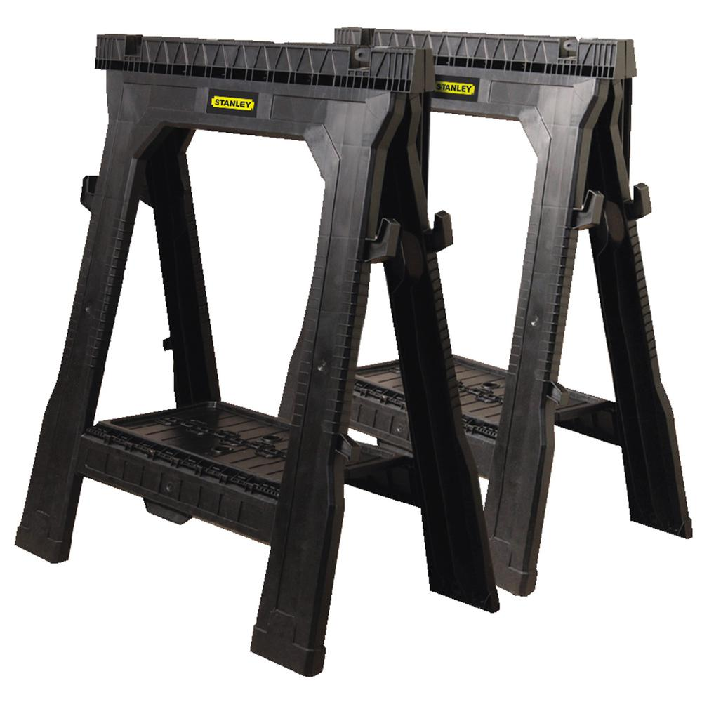 Stanley 31 in. Folding Sawhorse (2-Pack)