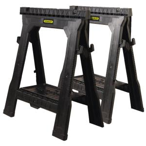 Stanley 31 inch Folding Sawhorse (2-Pack) by Stanley