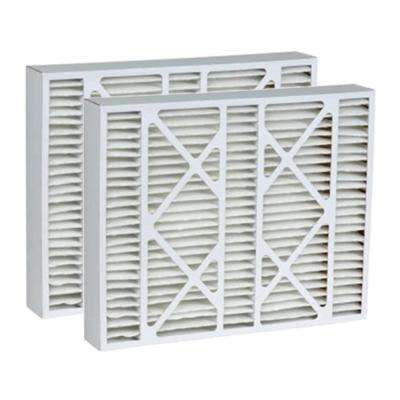 20 in. x 20 in. x 5 in. MERV 13 Pleat Micro Dust Air Filter (2-Pack)