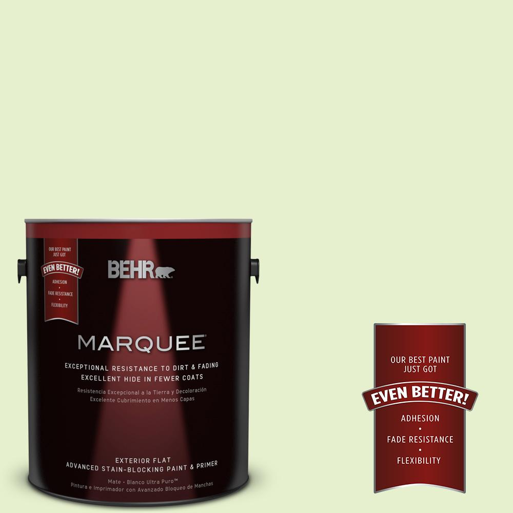 1-gal. #420C-2 Water Sprout Flat Exterior Paint